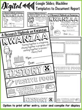 KWANZAA: DIGITAL RESEARCH REPORT FLIPBOOK: GOOGLE DRIVE: GOOGLE SLIDES: GOOGLE C