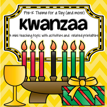 KWANZAA Centers and Activities for Preschool and Pre-K
