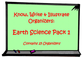 KWI Organizers - Earth Science Pack 1