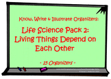 Show Me You Know! Life Science Pack 2: Interdependence of