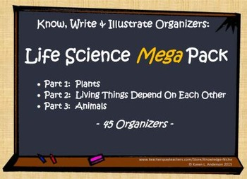 KWI Organizer Mega Pack - Life Science