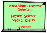 KWI Organizer - Physical Science Pack 2:  Energy