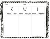 KWL Chart!