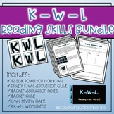 KWL Combo Packet - Study, Reading & Comprehension Skills