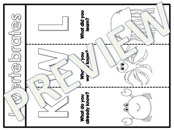 KWL Interactive Notebooks