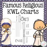 Famous Religious Individuals KWL Charts