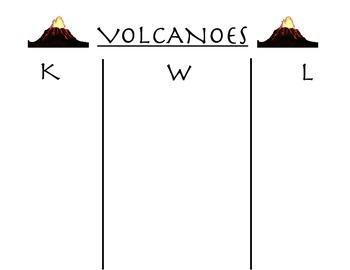 KWL Volcanoes