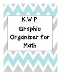 KWP Graphic Organizer for Math
