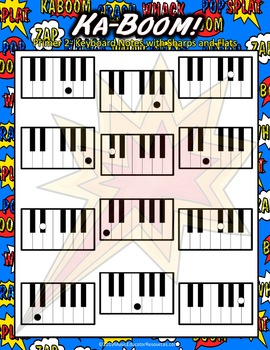 Ka-Boom! A Music Note Review Game