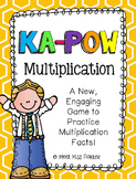 Multiplication Kapow - Math Game / Center Common Core
