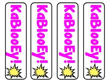 KaBlooEy! Kinds of Sentences