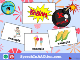 /k/ all positions- Kablam! Speech Sound Series