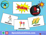 /s/ all positions- Kablam! Speech Sound Series