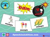 /v/ all positions- Kablam! Speech Sound Series