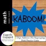 Kaboom - 2-Digit Addition (No Regrouping)