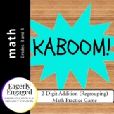 Kaboom - 2-Digit Addition (With Regrouping)