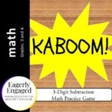 Kaboom - 3-Digit Subtraction