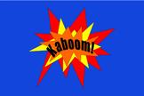 Kaboom! 6th Grade Math Review Board Game!