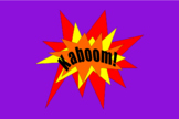 Kaboom! 7th Grade Math Review Board Game
