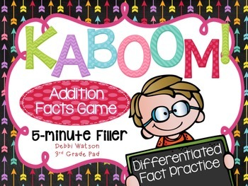 Kaboom! Addition Fast Fact Practice Game