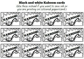 Kaboom! - Basic Facts Game (Add/sub up to 10) #flamingofriday