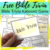 Kaboom! Bible Trivia Game Freebie
