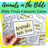 Kaboom! Bible Trivia Game for Animals in the Bible