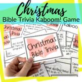 Kaboom! Bible Trivia Game for Christmas
