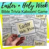 Kaboom! Bible Trivia Game for Easter + Holy Week