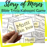 Kaboom! Bible Trivia Game for Moses + 10 Plagues