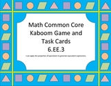 Kaboom!!! Combine Like Terms Game/Task Cards (6.EE.3)