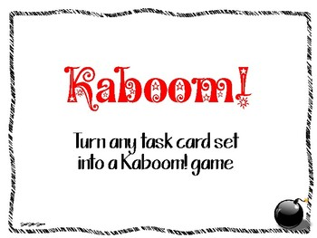 Kaboom! Game