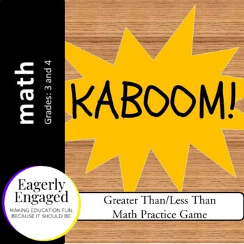 Kaboom - Greater Than/Less Than