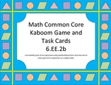 Kaboom!!! Identifying Parts of Expressions Game/Task Cards (6.EE.2b)