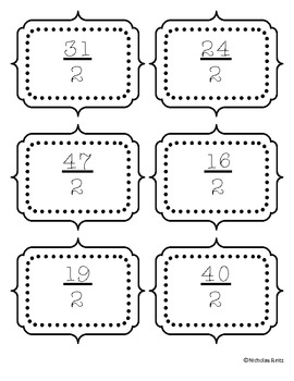 Kaboom - Improper Fractions to Mixed Numbers
