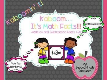 Kaboom...It's Math Facts!