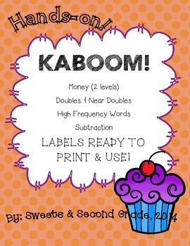 Kaboom! - Labels that are ready to use!