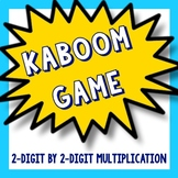 Kaboom Math Game - Multiplying 2 Digits by 2 Digits