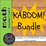 Kaboom - Math Practice Bundle
