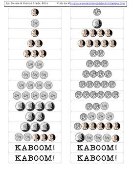 Kaboom! - Money Labels - EASY version