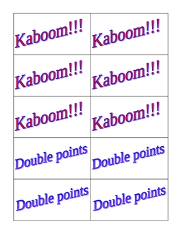 Kaboom!!!  Multiplying Polynomials and Monomials