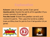 Kaboom Review Game