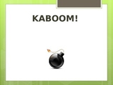 Kaboom Review Game for Weathering and Soil Formation