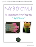 Kaboom! Sight Words
