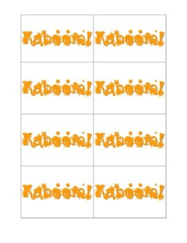 Kaboom! Subtraction with and without Regrouping