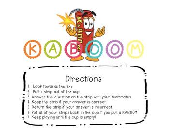 Kaboom! Three Digit Addition