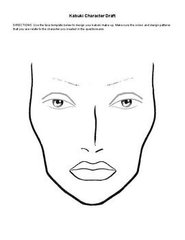Kabuki Character and Make-up Design
