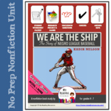 Kadir Nelson We Are the Ship: The Story of Negro League Baseball Nonfiction Unit