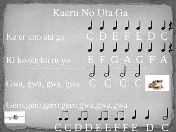 Kaeru No Uta Ga (Little Frog Song)