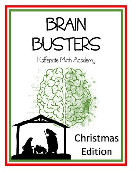 Kaffenate BRAIN BUSTERS--CHRISTmas Edition